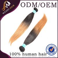 Alibaba Express Funmi double drown genuine raw indian remy brown hair extension