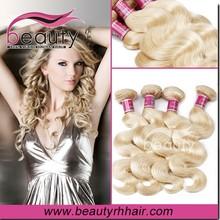 Virgin curly ombre afro kinky human hair weave honey blonde hair