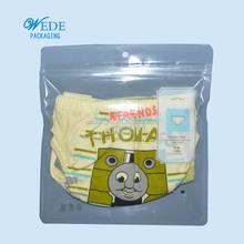Umwelt- freundlichen Paket tasche mit ziplock für unterwäsche