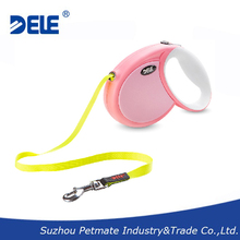 easy walk dog leash with chrome plated snap hook