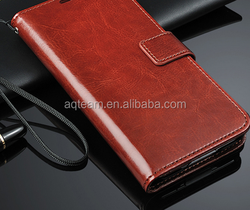 Factory Price For Samsung Galaxy S6 Wallet PU Leather Case