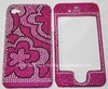 for Apple Iphone 4 brand new Crystal Bling Snap on Faceplate mobile phone Cover