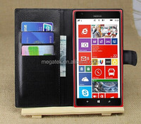 phone accessories leather wallet case for Nokia lumia 1520