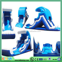 Cheap high quality inflatable wave water slide