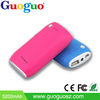 The best products china market of electronic imitational ABS leather power bank mi powerbank
