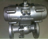 Pneumatic operated stainless steel ball valve pneumatic operated stainless steel ball valve