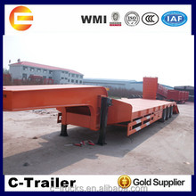 Hydraulic Low bed frame trailer 60t 3 axle