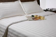 100% cotton stripe pillowcase for hotel hospital