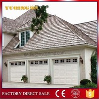 YQG-01 sectional garage door, steel door window insert