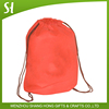 Customized Logo and print Branded Promotional Drawstring Bag/non woven drawstring backpack bag