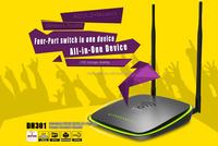 Wireless N300 ADSL2+ High Powe wifi Modem Router