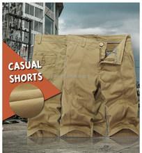 2015 Hottest fashion cotton black gym cargo short pants mens harem shorts