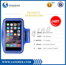 Reflective Armband sports mobile phone armband for iPhone 6