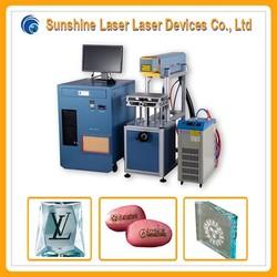 30w high speed laser marking machine for samsonite luggage