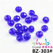 Rondelles Loose grano de la bola 4 mm alta calidad de la forma redonda de los granos cristalinos austríacos joyería collar pulsera DIY