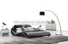 JY336 European home furniture modern leder bett