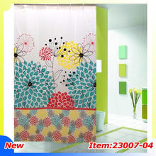 Solid Color bath shower windows curtain