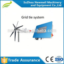 Horizontal Wind Turbine 1kw 2kw Residential Wind Power Generator Permanent Magnet