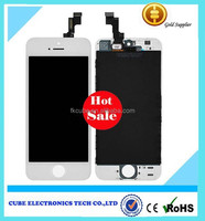 High quality cheap wholesale OEM replacement LCD touch screen for Iphone 5S