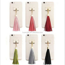 """Factory Price Protevtive case candy diamond bling tassel cover case for apple iphone 6 plus 5.5"""" & 6 4.7"""" best service"""