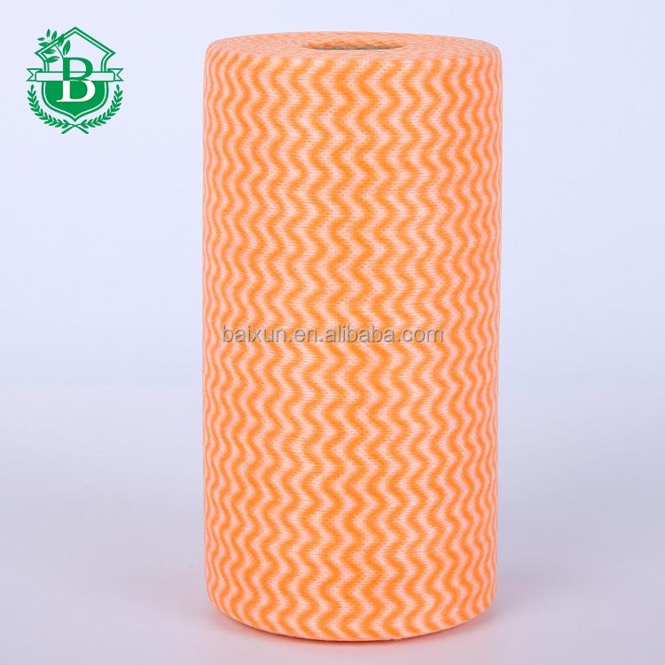 Microfibre chiffon de nettoyage multi-usages nom de non tissé tissu prix