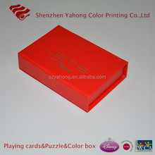 print playing card with box