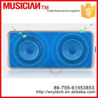 Wholesale newest Mini wireless LED bluetooth Speaker with USB charger for Iphone/Ipad/all device with bluetooth at good price