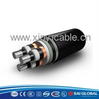 low smoke no halogen XLPE insulated alloy aluminum electrical cable