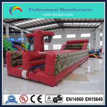 hot selling inflatable bungee run with basketball shoot for sale/inflatable interactive bungee run with basketball for sale