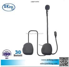 Newest Motorcycle helmet two way radio headset/interphone/earpiece with microphone