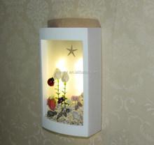 Seaview process plaster wall lamp