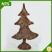 New Wood Carving Christmas Tree for Decoration