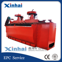 XJB Bar Flotation Cell, China High Efficiency Copper Ore Concentrate Plant