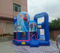 Inflatable playground frozen inflatable castle