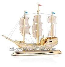 moda modello di nave di cristallo design