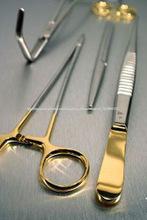 El carburo de tungsteno Vestir pinzas hemostáticas instrumentos quirúrgicos