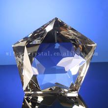 K9 cristal de Style étoiles de verre papier de poids
