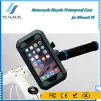 Motorcycle Bicycle Waterproof Case for iPhone5 5S Black