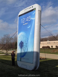 Guangzhou giant inflatable mobile phone for advertising
