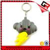 Wholesale promotion reflective pvc keychain