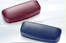 factory wholesale glasses case thin leather glasses case