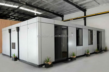 chinese well design low cost temporary living house/low cost prefabricated eps houses