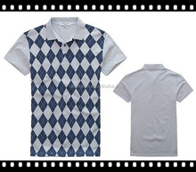 cotton 100% Polo T shirt, Collar Man Polo T shirt Wholesale,new printed polo t shirt pattern
