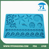 2015 Innovative Silicone Product Blue Ocean Cake Decoration