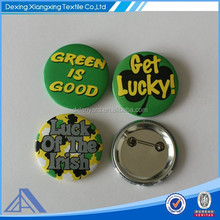 round metal badges with 2D,3D surface