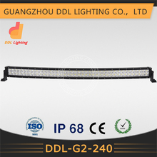 "42"" 240W C REE LED Curved radius led light bar Super Bright Off Road ATV Tractor Truck SUV 4WD 4x4"