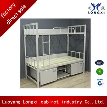 Popular steel kids double deck bed, double deck bed design