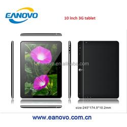 $49.9 Eanovo/OEM phone call, bluetooth, 5.0MP cameras MTK 8382 quad core 10 inch 3G tablet pc