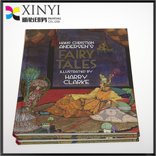 luxury case bound four colour children story book printing