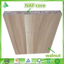 China factory JIS -A-1460 standard wholesale walnut grain MDP embossed finished